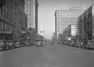 Los Angeles julen 1928. Foto: LA Times