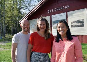 Tävlingsledare Marcus Ekstam hoppas att loppet Run for a reason blir återkommande och att deltagarna i framtiden kanske kan välja vilken välgörenhet man kan skänka till. Karin Isaksson och Mikaela Näslund hos Dalarna för Afrika är glada för att i år få bidragen från loppet.