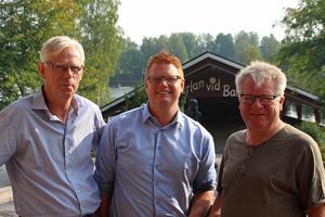 Lennart Silfverin, Fredrik Rönning och Arne Eriksson är laddade för Augustifesten.