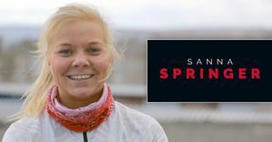 Sportens reporter Sanna Svanebo tar tempen på löparlänet i Sportens nya tv-serie, som har premiär på fredag.