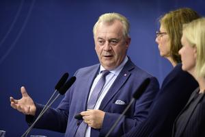Landsbygdsminister Sven-Erik Bucht. Bild: Hossein Salmazadeh / TT
