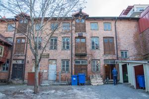 Tegelmagasinet, byggt 1902, har rivningsförbud och ett så kallat fasadskydd.