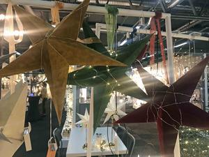 Snart är det jul igen. Och i år kommer murriga färger få ett större genomslag. Adventsstjärnor i sammet i saffransgult, mossgrönt och vinrött.