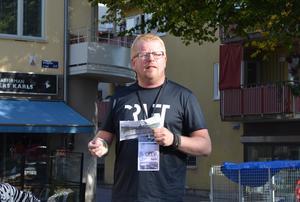 Fotografen Henrik Hansson är en av initiativtagarna till Borlänge fotomaraton.
