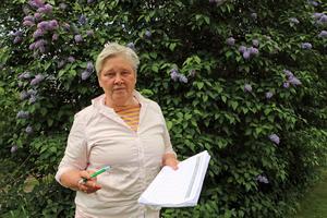 Ulla-Carin Grafström, (LPo), är hemlighetsfull om hur hon kommer att rösta i frågan vem som ska styra kommunen på kommunfullmäktige på måndag.