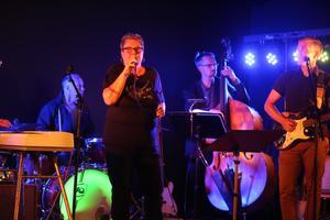 Gerd Stårner var sångerska i bandet Caputniks på 60-talet. Här uppträder hon på Logrocken.
