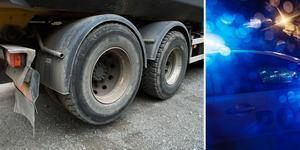 Gärningsmännen ska bland annat ha försökt bryta sig in i två lastbilar.