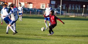 Rezene Berhane gjorde KBK-målet i matchen som slutade 1–1.