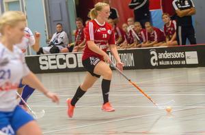 Linnéa Wennmyr stod för ett av Per-Ols mål i matchen. Foto: Ted Lindholm