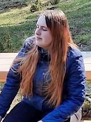 22-åriga Sevrina har varit försvunnen sedan den 4 juni. Foto: Privat