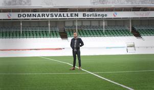 Johan Persson har tillbringat 21 säsonger i IK Brage. Domnarvsvallen är hans andra hem.