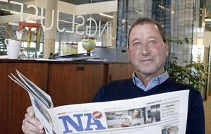 NA:s rapportering om hemlösa ensamkommande förra vintern fick Öbo:s vd Ulf Rohlén att agera.