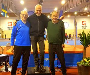 Mängder med SM-medaljer har det blivit för Erik sen han tog upp friidrottandet.