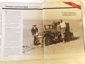 Uppslag i senaste numret av tidskriften Populär Historia.