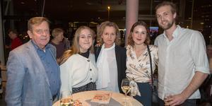 Lars Godner, Stina Godner, Boel Godner, Charlotte Buller och Andreas Nygård.