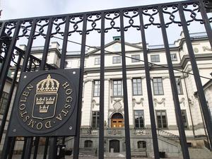 De två SSAB-anställda som fällts för insiderbrott får inte sitt fall prövat av Högsta domstolen.