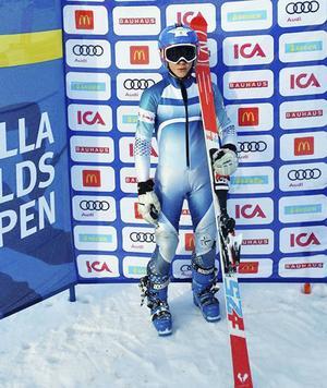 Anton Rösnäs tog en överlägsen seger i storslalom under landsdelsfinalerna av Lilla Världscupen i Lycksele.
