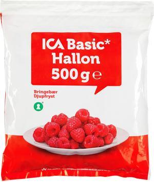 Produkten Ica Basic Frysta Hallon återkallas.  Foto: ICA