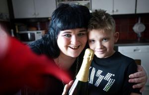 När Adam fyllde 10 år kom DT på besök.