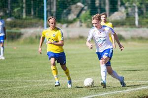 Lillhärdal hade svårt att få stopp på Iggesunds Emil Hallberg som både spelade fram och gjorde mål i andra halvlek.