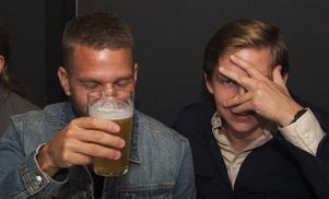 Brasseriet. Jocke och Emil. Foto: Fabian Zeilitz