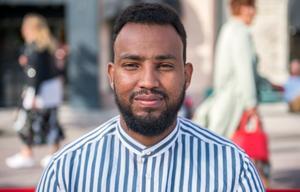 Abdalla Ibrahim, 26 år, tolk, Skönsberg: