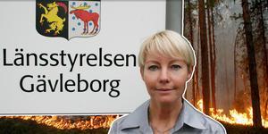 Mia Karlsson, handläggare för frivilligersättningarna vid samordningskansliet, uppskattar att den totala kostnaden för ersättningar till frivilliga uppgår till ungefär 5,5 miljoner kronor. Pressbild.