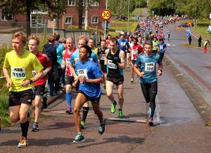 År 2015 slog stadsloppet i Ludvika deltagarrekord med 1 172 löpare.