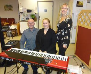 Trio of Joy med Robert Sedin, Ida Linné och Caroline Sedin bjöd på en känslosam timme på Kom In.