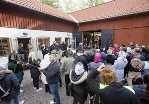 Vandringen inleddes vid Sågarbo herrgård.