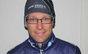 Peter Blomqvist, Matfors SK, belönas för sitt engagemang.