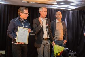 Köping Stars utsågs till under VM-festen på Kungsörstorp. Priset togs emot av Anders Täpp, Tomas Bandh och Tony Geidemark.