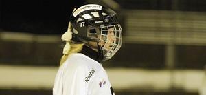 Elena Goremykina släckte semifinalhoppet för sitt gamla SAIK när hon gjorde två mål för AIK i andra kvarten. FOTO: ARKIV
