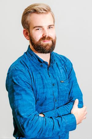 Erik Rindeskär, meteorolog vid Foreca.