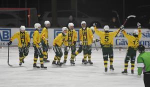 Ljusdal fick jubla femton gånger om i matchen mot Skutskär.