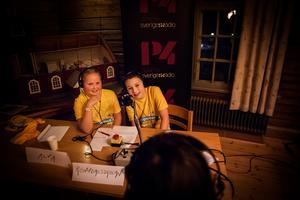 Alva Larsson och Arvid Jennessen Nordström tävlade för Rönndalsskolan 5A, från Enviken i Falu kommun och vann dalafinalen.