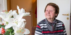 Dagny Tellner har haft hemtjänst i ungefär ett år. Hon är mycket nöjd med hjälpen hon får av personalen, men upplever att de är mycket stressade.