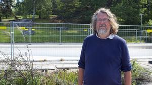Conny Carlsson, 50, välkomnar projektet men tycker att en permanent lösning hade varit bättre.