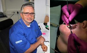 Verksamhetschefen Roger Lindberg på folktandvården i Avesta väntar in flera tandläkare de närmaste månaderna.