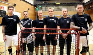 Dennis Ludwall, Robin Blomquist, Johan Gunell, Julius Dickfors, Marcus Collén och Sebastian Lundwall är sex av Lokets nyförvärv.