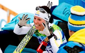 OS-guld 10 kilometer fristil 2010. Bild: Bildbyrån.
