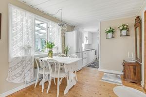 Foto: Micael Carlsson. Huset på Sättervägen 27 är byggt 1950.