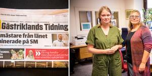 Det kraftiga annonstappet tog knäcken på bolaget som ger ut Gästriklands Tidning.
