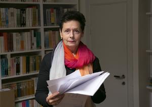 Dorotea Brombergs förlag Brombergs ger ut Arto Paasilinna på svenska.  Foto: Hossein Salmanzadeh / TT