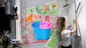 Almega vill att rutavdraget görs om till ett hem-avdrag som omfattar alla tjänster som utförs i eller i nära anslutning till hemmet. Bilder: Hasse Holmberg / TT / Jonas Ekströmer/TT / Claudio Bresicani/TT