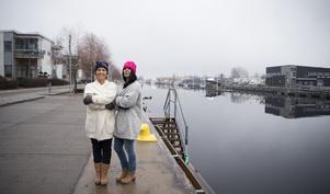 Det blev 24 år på Ericsson för Sanna och Mia Nordmark. Nu jobbar de på varsin enhet på Gävle sjukhus, men i samma hus.