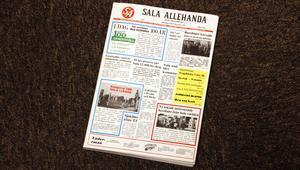 När SA firade 100 år sammanställde tidigare chefredaktören Charles Söderström en bok om tidningens historia.