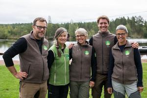 De som jobbar på Falu Naturskola nu är Anders Sjöberg, Britt Lundberg, Anna-Karin Axellie, Gordon Eadie och Evis Engman.