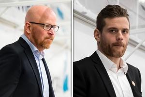 Johan Rosén och Daniel Hermansson ersätter Mattias Karlin och Mikael Johansson. Bild: Bildbyrån