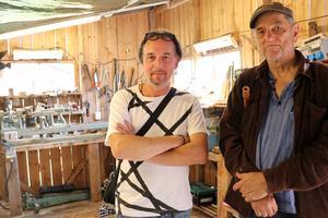 Göran Månsson och Gunnar Stenmark startade flöjtkurserna tillsammans för tio år sedan.